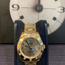 Rolex Pearlmaster Or jaune 34mm Champagne Romain France, Paris