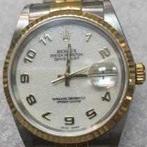 Rolex 16233 Goud/Staal 2003 Datejust 36mm tweedehands