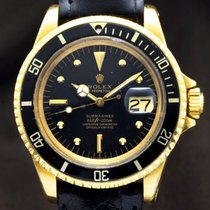 Rolex Submariner Date pre-owned 40mm Leather