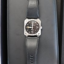 Bell & Ross BR 03 BR0393-GMT-ST/SCA 2019 pre-owned
