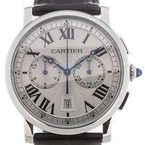 Cartier Rotonde de Cartier Stahl 40mm Weiß Schweiz, Genève