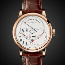 A. Lange & Söhne Rose gold Manual winding Silver 39.9mm new Richard Lange