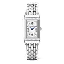 Jaeger-LeCoultre Reverso (submodel) Steel 40.1mm White Arabic numerals United States of America, Iowa, Des Moines