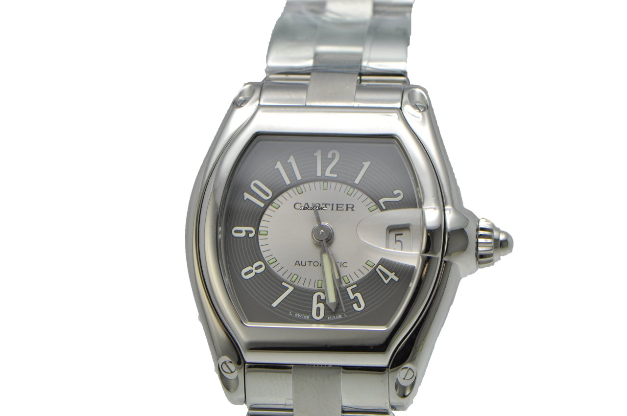 Cartier Roadster Stainless Steel 2510 for  3 72aec6ab3e