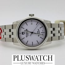 Tudor Glamour Date 36mm Silver Dial R