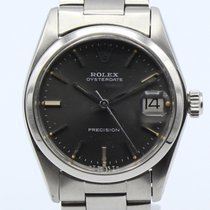 Rolex Oyster Date Precision Manual Winding Steel 6466