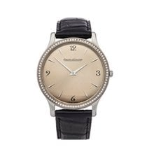Jaeger-LeCoultre Master Ultra Thin Acero 34mm Champán