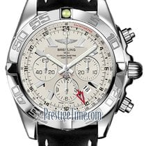 Breitling Chronomat GMT Steel 47mm Silver United States of America, New York, Airmont