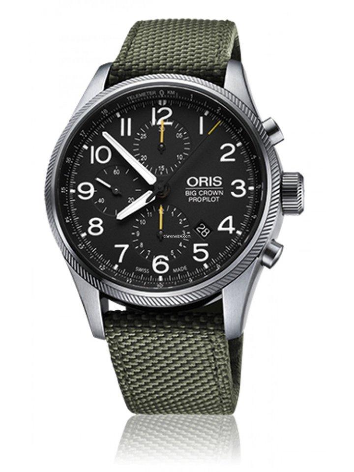 667ba6cae Oris Big Crown ProPilot Chronograph - all prices for Oris Big Crown  ProPilot Chronograph watches on Chrono24