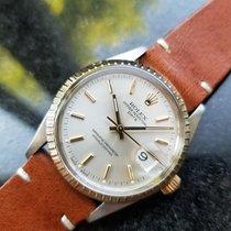 Rolex Men's 18K Gold & SS Oyster Perpetual Date 15053 Automati...