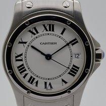 Cartier Santos (submodel) gebraucht 33mm Stahl