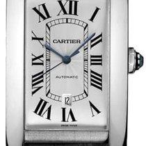 Cartier Tank Américaine White gold 31mm White Roman numerals