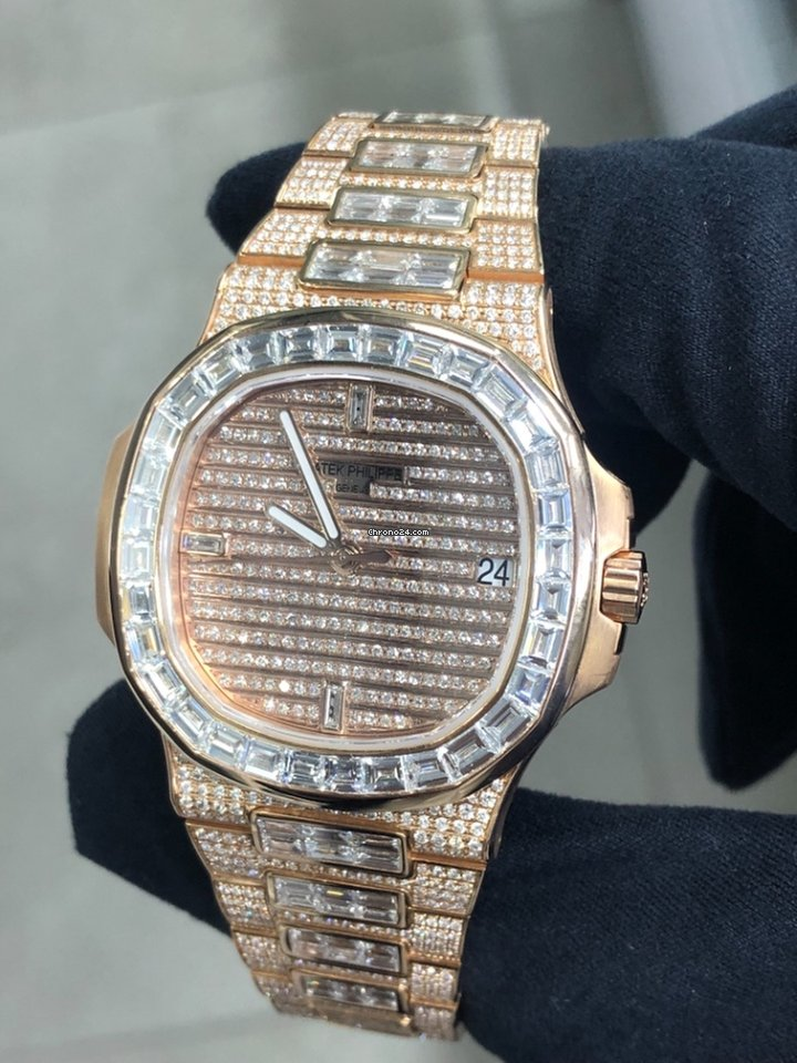 Patek Philippe Nautilus Custom Diamond For 128 999 For Sale From A