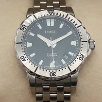 Limes Steel 41,5mm Automatic Mod.1Tausend new