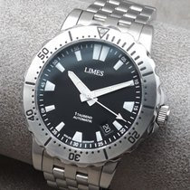 Limes Steel 39,5mm Automatic U87478-LA1.1 new