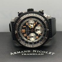 Armand Nicolet Steel 45mm Automatic pre-owned