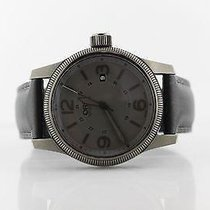Oris Big Crown pre-owned 44mm Grey Date Leather