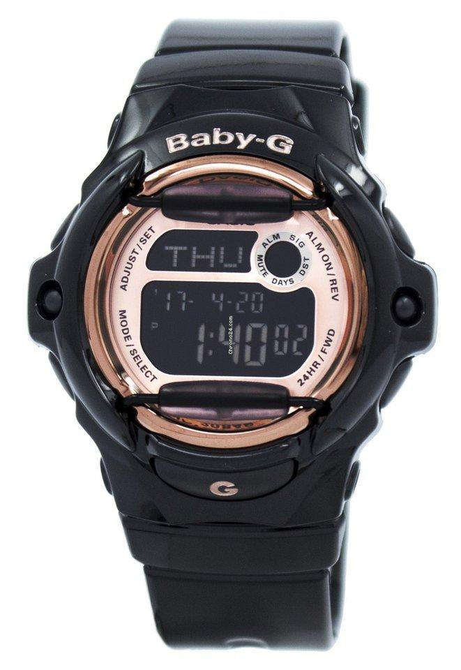 Watch Digital Casio 169g Baby G Databank Bg Women's Bg169g World Time 1 SUMGLqVzp
