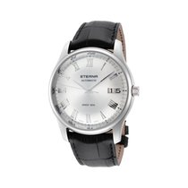 Eterna Vaughan Acero 42mm Plata