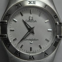 Omega Constellation Quartz pre-owned 25mm Steel