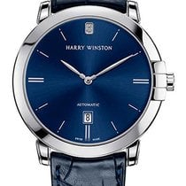 Harry Winston Midnight White gold 42mm Champagne No numerals United States of America, Florida, Miami