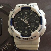 Casio G-Shock rabljen 50mm Kronograf Dupli hronograf Zvonilo Datum, nadnevak Sedmicni pokazivac Mjesecni pokazivac Godisnji pokazivac Budilica GMT Kaučuk
