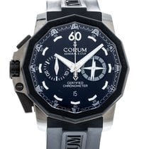Corum Admiral's Cup Seafender 50 Chrono LHS Steel 50mm Black United States of America, Georgia, Atlanta