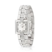 Concord White gold Quartz Silver 20mm pre-owned La Scala