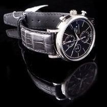 IWC Portofino Chronograph Сталь 42.0mm Чёрный
