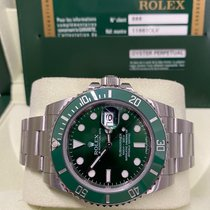 Rolex Submariner Date 116610LV 2010 pre-owned