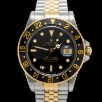 Rolex GMT-Master 16753 Good Gold/Steel 40mm Automatic