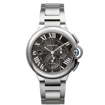 Cartier Ballon Bleu Chronograph 44mm XL Stainless Steel Watch