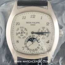 Patek Philippe 18k W/G Sealed Perpetual Calendar Moonphase...