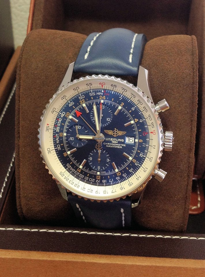 Breitling Navitimer World A24322 Box Papers 2018