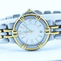 Maurice Lacroix Calypso Damen Uhr Stahl/gold Vergoldet 25mm 2