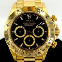 롤렉스 (Rolex) Daytona Zenith Movement Ref 16528 18K Yellow Gold