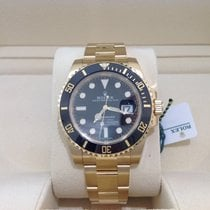 Ρολεξ (Rolex) Submariner Date 18ct Yellow Gold Black November...