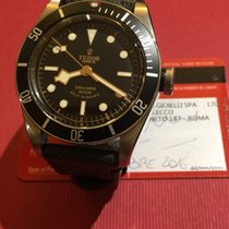 Tudor Black Bay Full Set red Triangle gilt