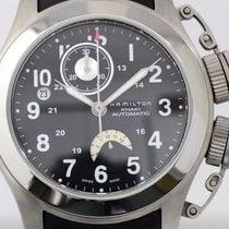Hamilton Khaki Navy Frogman Automatic Titanium Rubber Diver...
