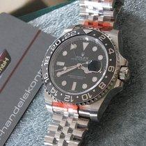 Rolex GMT-Master II neu 40mm Stahl