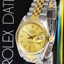 Rolex Datejust Steel/18k Yellow Gold Jubilee Bracelet Watch...