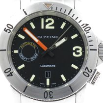 Glycine Steel 44mm Automatic 3899.19-MB pre-owned