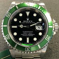 Rolex Submariner Date 16610LV Ottimo Acciaio 40mm Automatico