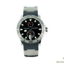 Ulysse Nardin 263-33-3/92 Steel Maxi Marine Diver new