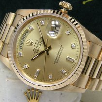 Rolex Day-Date 36 Yellow gold 36mm Champagne No numerals United States of America, Pennsylvania, HARRISBURG