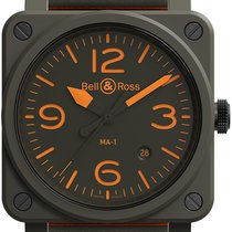 Bell & Ross Ceramic 42mm Automatic BR 03 new