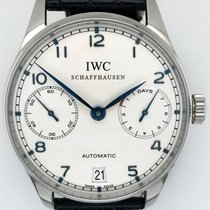 IWC Portuguese Automatic Steel 42mm White Arabic numerals United States of America, New York, New York