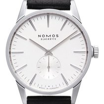 NOMOS Steel 39.7mm Automatic 801 new