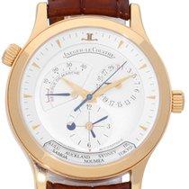 Jaeger-LeCoultre Master Geographic pre-owned 39mm Leather