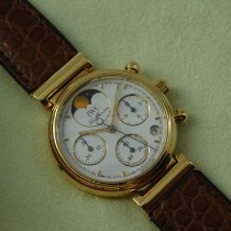 IWC 3735 Yellow gold 1993 Da Vinci Chronograph 29mm pre-owned